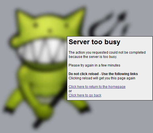 demonoid error